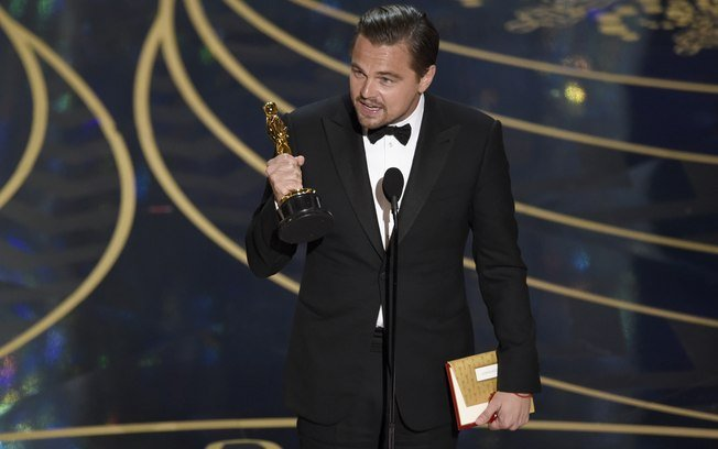 Enfim, ator levou o prêmio