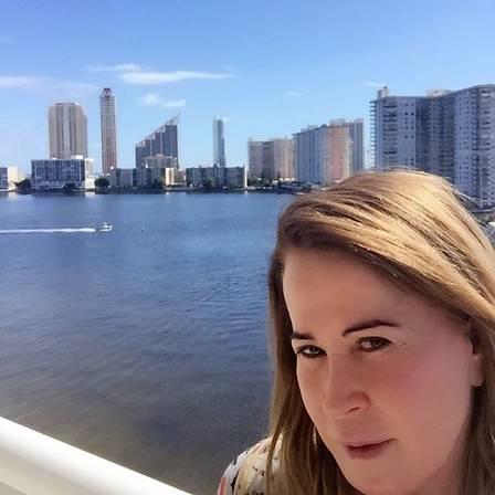 Zilu em Miami (Crédito: Divulgação)