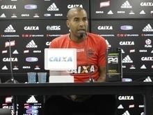 Sheik festeja novo CT do Fla e diz que clube brigará pelos títulos