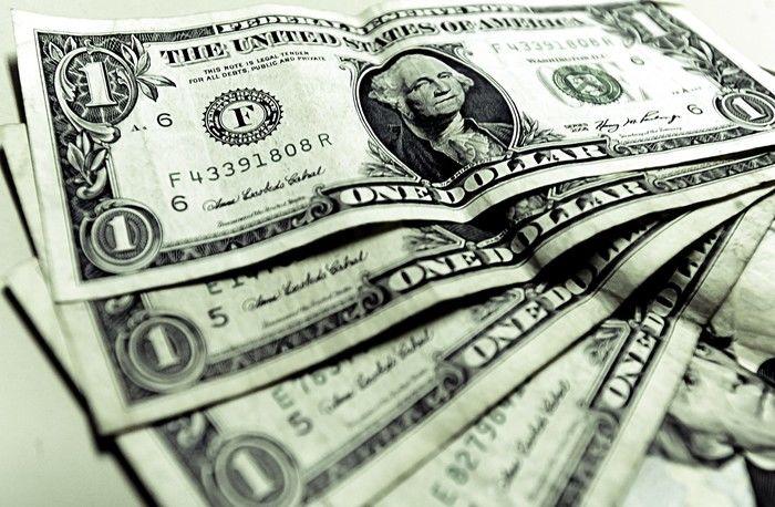 O dólar teve forte queda (Crédito: Divulgação)