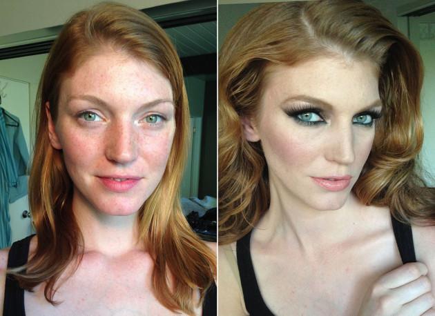 Artista mostra o incrível poder que a maquiagem tem nas pessoas (Crédito: Reprodução)