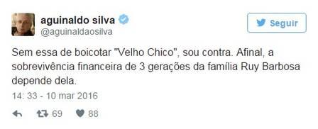 Aguinaldo Silva alfinetou Benedito Ruy Barbosa  (Crédito: Divulgação )
