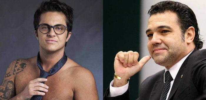 """Thammy rebate crítica de Marco Feliciano: 'Sou mais homem que você"""" (Crédito: Reprodução)"""