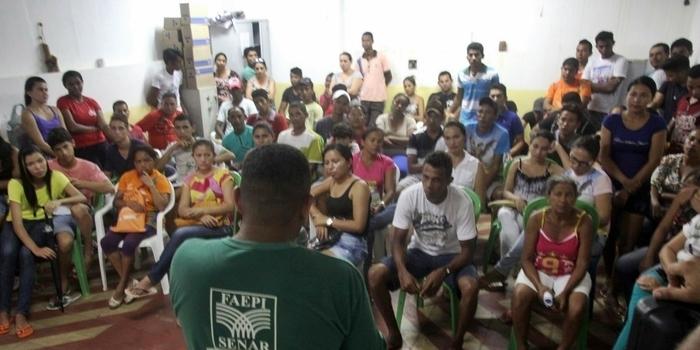 Cursos profissionalizantes são oferecidos em Miguel Alves