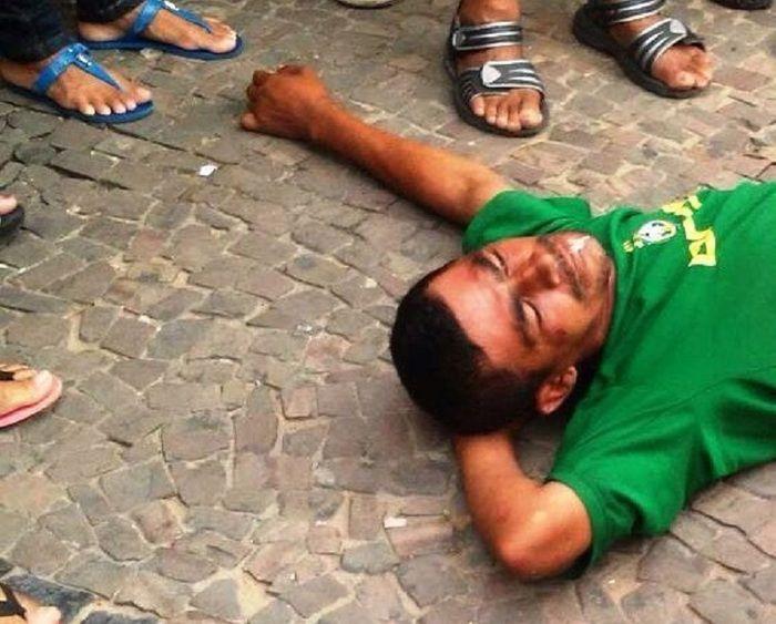 Francisco de Assis já tem passagem pela policia por homicídio  (Crédito: Reprodução)