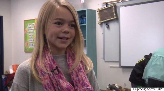 Menina perde a tia e cria campanha para ajudar crianças com câncer (Crédito: Reprodução)