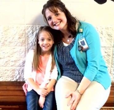 Professora surpreende a todos e doa rim para aluna de 8 anos (Crédito: Reprodução)