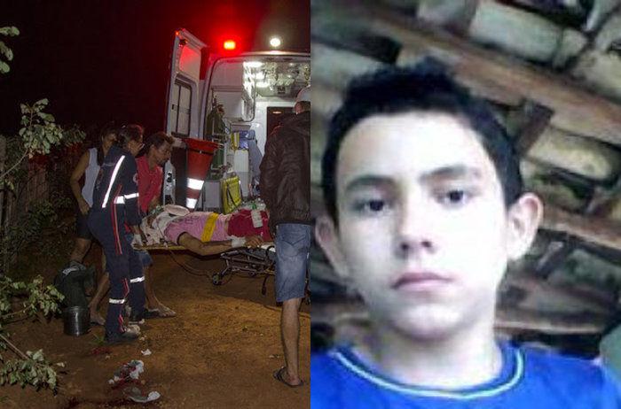 Firmino da Silva Cardoso, de 15 anos
