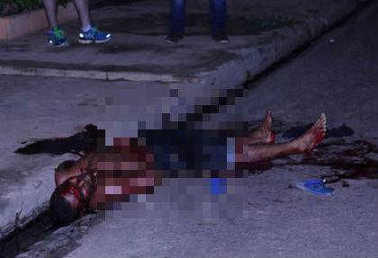 Segundo os policiais, os indícios apontam para uma execução (Crédito: Portal RV)