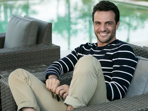 O ator Rodrigo Lombardi, minimizou as declarações (Crédito: Reprodução)