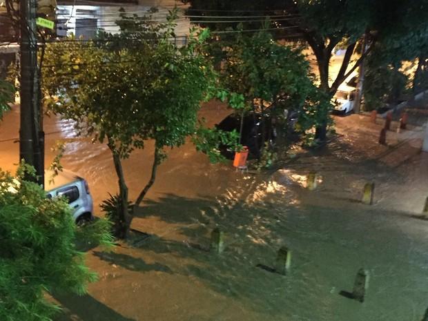 Temporal causa alagamentos e deixa dois mortos do Rio (Crédito: Reprodução)