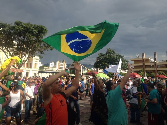 Protestos contra Dilma em Belo Horizonte