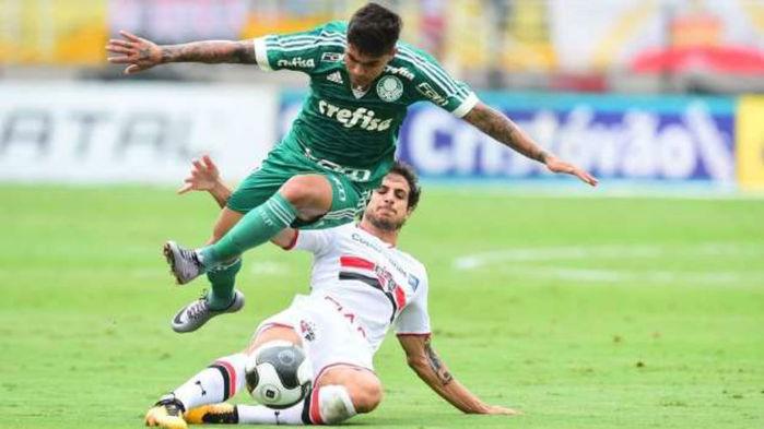 Palmeiras vence São Paulo por 2 a 0