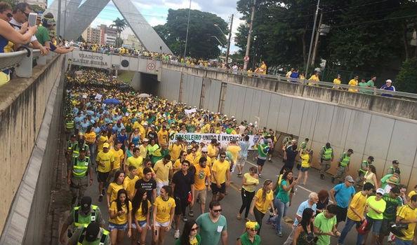 Protestos em Goiânia