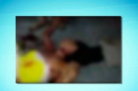 Vítima foi socorrida pelo Samu e encaminhada para o HGE (Crédito: Reprodução)