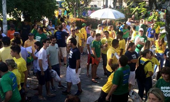 Protestos  no Rio Grande do Norte