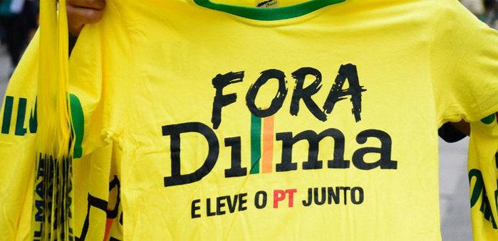 Camiseta usada por manifestantes na Avenida Paulista  (Crédito: Uol )