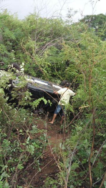 O acidente foi na estrada que liga Castelo do PI a São Milguel do Tapuio