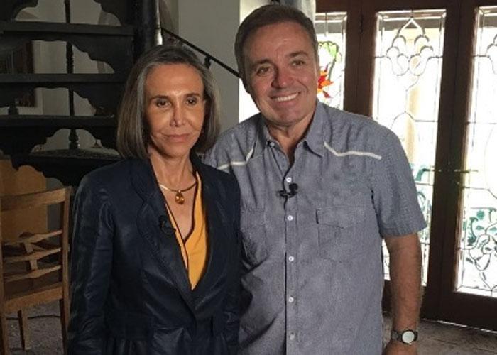 Florinda Meza e Gugu (Crédito: Divulgação)