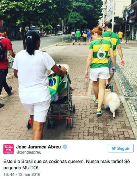 José de Abreu critica manifestações e faz postagens irônicas (Crédito: Reprodução)