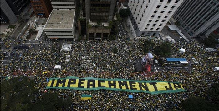Manifestação na Avenida Paulista (Crédito: Uol )