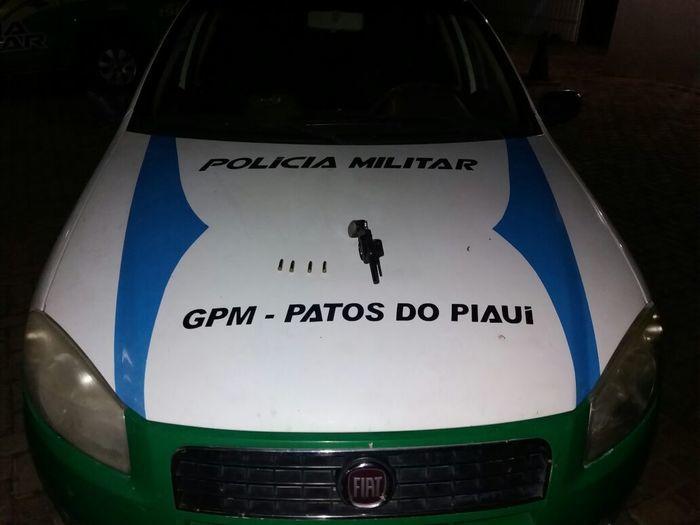 Viatura usada na ronda (Crédito: Divulgação)