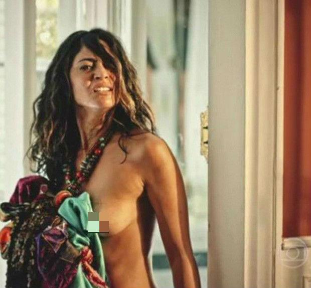 Carol Castro e Rodrigo Santoro são elogiados na web após nudes (Crédito: Reprodução)