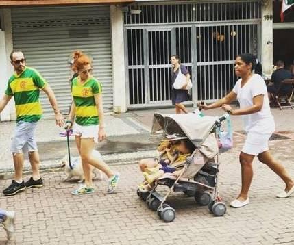 Foto causou polêmica