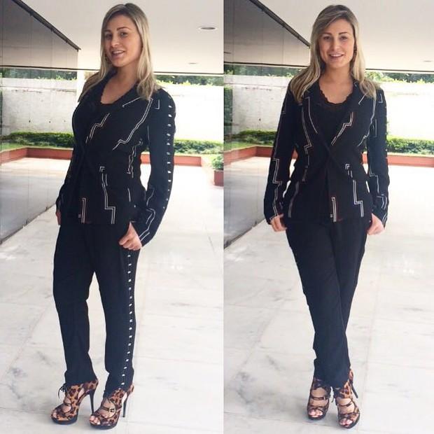 Andressa Urach perdeu cinco quilos  (Crédito: Reprodução/ Instagram )