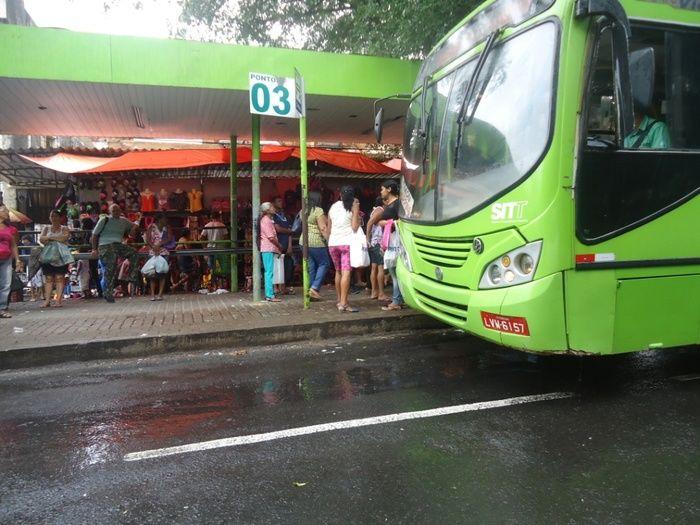 Parada de ônibus serão reorganizaddas no centro de Teresina