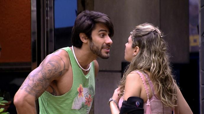 Renan e Ana Paula tiveram várias brigas do BBB  (Crédito: Gshow)