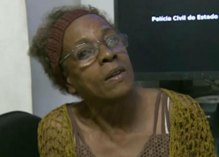 Vovó foi presa pela polícia