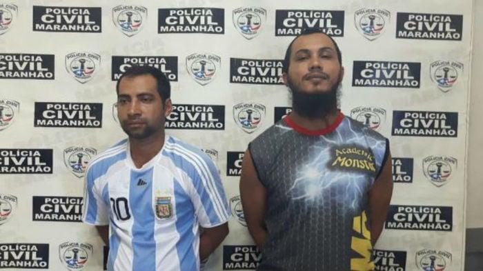 Suspeitos foram presos em Barra do Corda - MA