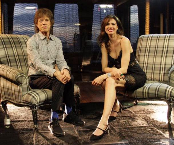 'Lucas é maravilhoso sou sortudo!': diz Mick Jagger em entrevista (Crédito: Reprodução)