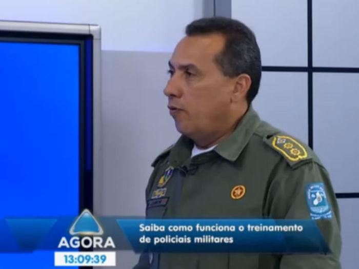 Coronel explica como funciona a formação de policiais (Crédito: Reprodução/TV Meio Norte )