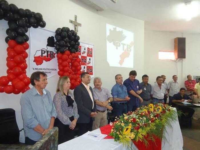 Lideranças do PTB durante encontro em Picos