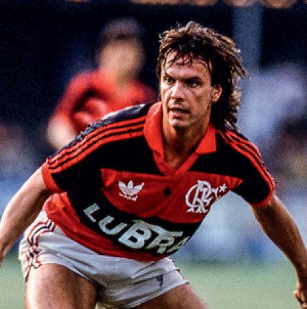 Gaúcho jogava pelo Flamengo em 1992