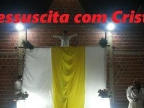 """Crianças do Bairro Santa Clara apresentam """"A Paixão de Cristo"""""""