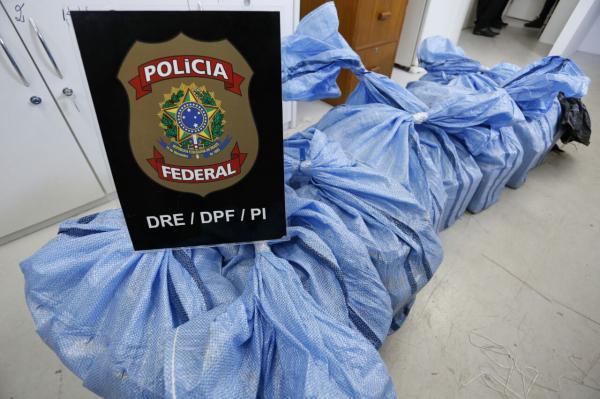 PF apreende 305kg de pasta base de cocaína (Crédito: Divulgação)
