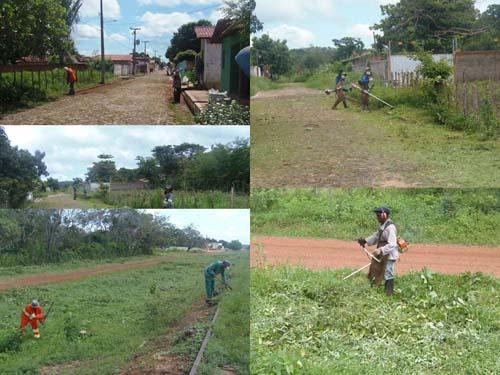 Limpeza Pública em Brasileira (Crédito: Ascom)