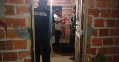 Local onde aconteceu o crime (Crédito: Divulgação/Polícia Civil de Castelo do Piauí)