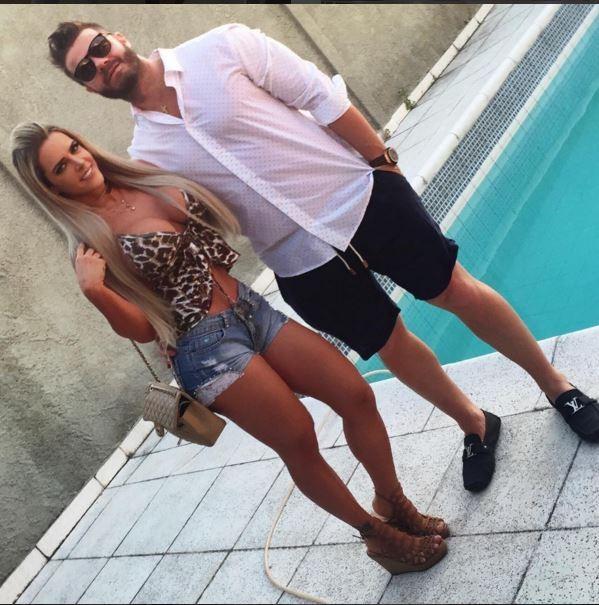 Denise e seu namorado nutricionista (Crédito: Reprodução/ Instagram)