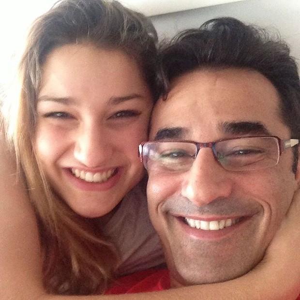 Luciano Szafir e Sasha  (Crédito: Reprodução)