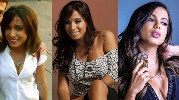 Ao longo dos anos, Anitta mudou muito o visual