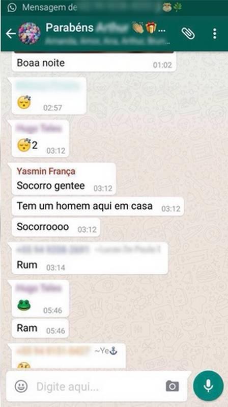 Jovem pede socorro via WhatsApp e é encontrada morta horas depois (Crédito: Reprodução)
