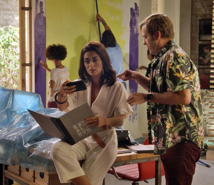 Carol vê vídeo onde Germano confirma Elisa como Garota TD+
