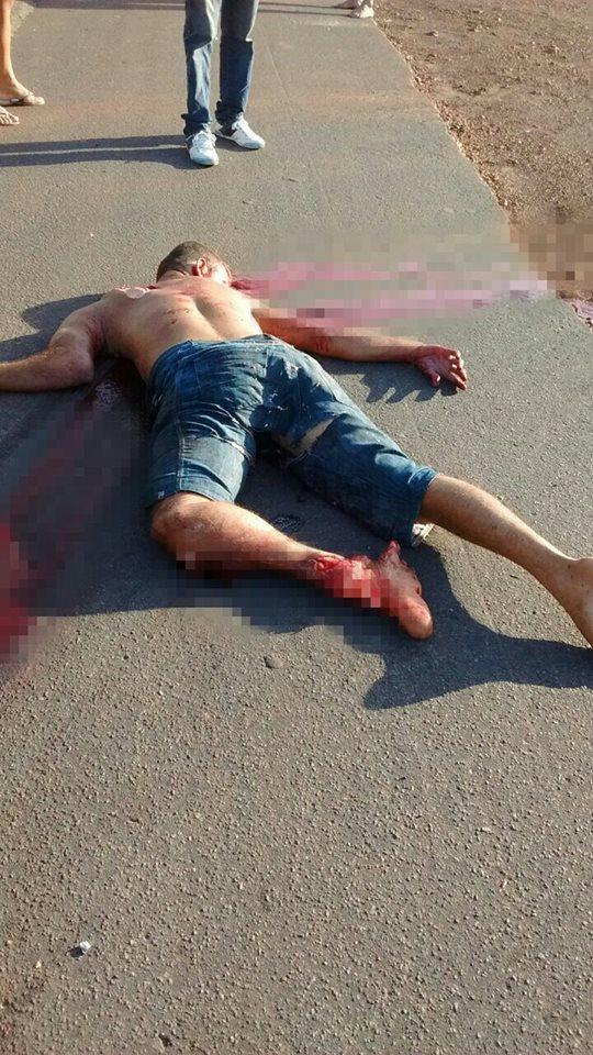 Leonardo Pereira de Oliveira morreu na hora (Crédito: Portal de Olho)