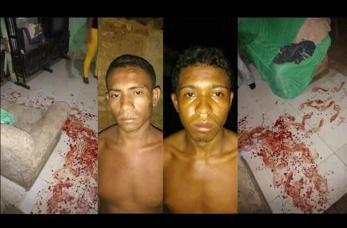 Bandidos que atacaram idosos a facadas são presos em Campo Maior (Crédito: Reprodução)