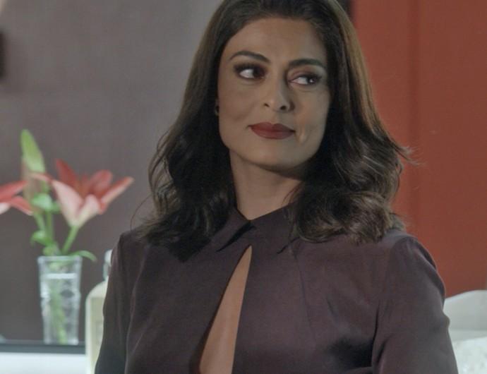 Carolina chega com tudo para assumir cargo na agência de Arthur