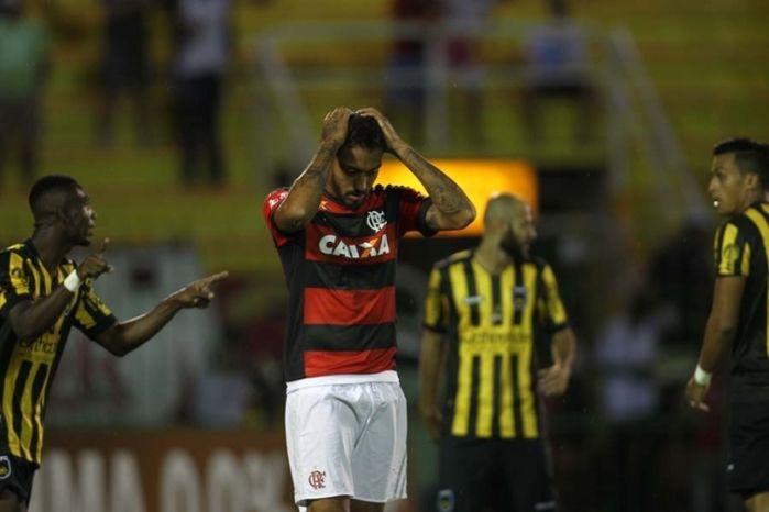 Volta Redonda derrotou o Flamengo  (Crédito: Lance)